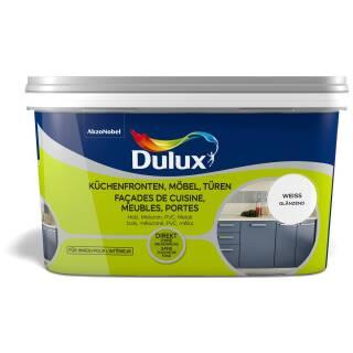Dulux 5280678 Glänzend Weiß 2 L Fresh up Küchenfront Möbel Türen Innen streichfertig