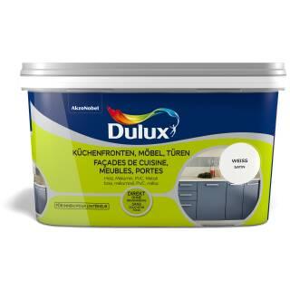 Dulux 5280663 Satin Weiß 2 L Fresh up Küchenfront Möbel Türen Renovieren Innen