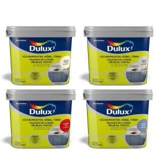 Dulux Glänzend 750 ml Fresh up Farbe Küche Front Möbel Türen Renovieren streichfertig