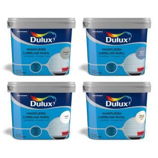 Dulux Fresh up Wandfliesen Farbe 750 ml Satin/Glänzend Fliesen Renovieren Innen