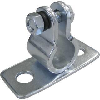 Auflageböckchen für Welle 12 mm Anschraubplatte 80 x 34 mm verzinkt Achse