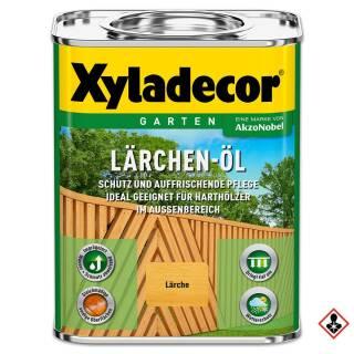 Xyladecor Lärchen-Öl 750 ml Außen Holzöl Boden Terrasse Garten Parkett Nadelholz