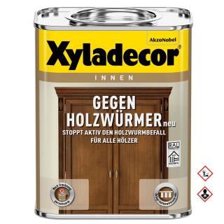 Xyladecor Gegen Holzwürmer 750ml Lasur Balken Schutz Bekämpfen Abtöten Entfernen