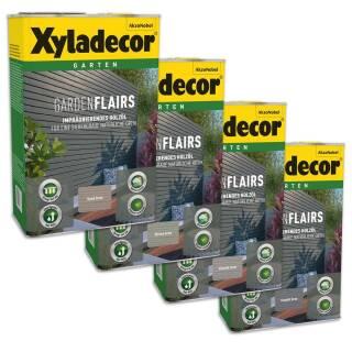 Xyladecor Gardenflairs Holz Schutz Öl Außen Imprägnierung Patina 0,75 l