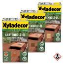 Xyladecor Gartenholz Öl 2,5 l Rötlich / Natur /...