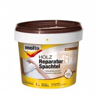 Molto HOLZ-REPARATUR-SPACHTEL 1kg Fertigspachtel Spachtelmasse Holzspachtel