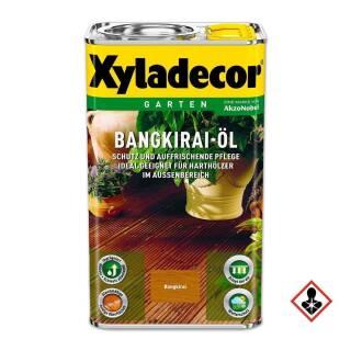Xyladecor Bangkirai Öl  0,75 / 2,5 / 5 l Außen Holzöl Boden Terrasse Parkett Garten