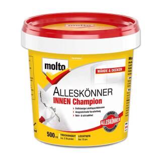 Molto Alleskönner INNEN Champion 500 ml Spachtelmasse Wand Holz Füllspachtel