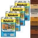 Xyladecor Holzschutz-Lasur PLUS 4 l Außen...