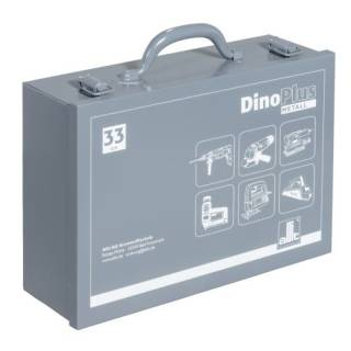 Allit 490610 Dino Plus Metall 33 grau Maschinenkoffer...