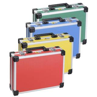 Allit AluPlus Basic >L< 35 Utensilien-/Verpackungskoffer Schminkkoffer