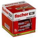 fischer Universaldübel DuoPower 12x60 mm mit Rand...