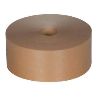 Nassklebeband Maschinenklebeband 70 mm / 200 m unverstärkt braun 70 g/m²
