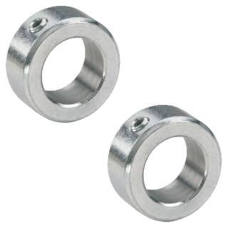 Stellring 20,2 mm  DIN 705 Form A verzinkt, für Welle Achse mit Madenschraube