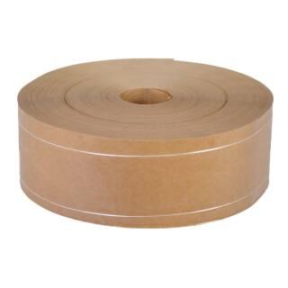 Nassklebeband Maschinenklebeband 70 mm / 200 m zweifach längstverstärkt braun 75g/m²