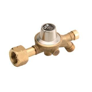 """CFH Druckregler 3/8"""" / 2,5 bar für 5/11/33 kg Gas-Regler mit Schlauchbruchsicherung DR112"""
