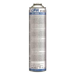 CFH Universaldruckgasdose AT 2000 600 ml Gaskartusche Universalgas Gasdose