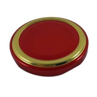 TO82 Deckel Rot/Gold 100 Stk.