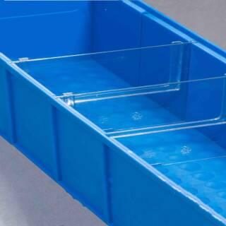 Allit ProfiPlus ShelfBox Divider B 4 Trennstege für Industrieboxen 456591
