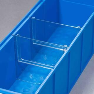 Allit ProfiPlus ShelfBox Divider S, 4 Trennstege für Regal-Industrieboxen 456590