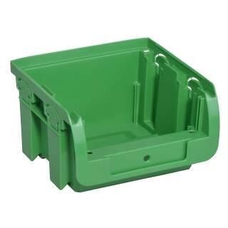 Allit ProfiPlus Compact 1 grün Stapelsichtbox Gr. 1 Regalbox Sichtbox Box 456403
