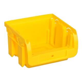 Allit ProfiPlus Compact 1-4 gelb Stapelsichtbox Sichtbox Lagerbox Stapelbox Kiste
