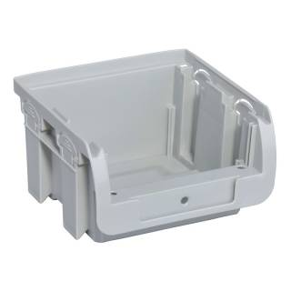 Allit ProfiPlus Compact 1-4 grau Stapelsichtbox Sichtbox Lagerbox Stapelbox Kiste
