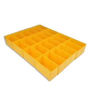 Bestückung EuroPlus Pro >M< - Einsatzboxen gelb