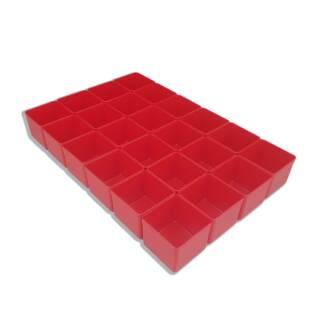 Bestückung für Allit EuroPlus Flex 37-3 - Einsatzboxen rot Gr. 1