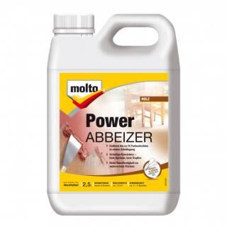 Molto POWER ABBEIZER 2,5L Kraftlöser abbeizen Lackentferner Entlackung Beize