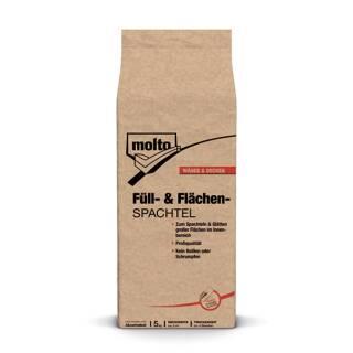 Molto FÜLL- U. FLÄCHENSPACHTEL 5kg Füllspachtel Spachtel Glätten Spachtelmasse