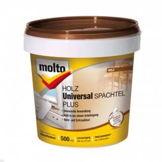 Molto UNIVERSAL HOLZSPACHTEL PLUS 500ml Premium Fertigspachtel gebrauchsfertig