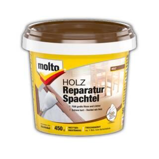 Molto HOLZ-REPARATUR-SPACHTEL 450g Fertigspachtel Holzspachtel gebrauchsfertig