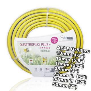 Rehau Quattroflex Plus+ Schlauch Gartenschlauch Wasserschlauch Bewässerung