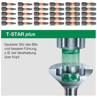 SPAX BITs T-Star plus im Cut-Case Inhalt: 5 Stück / Bit-Länge: 25 mm