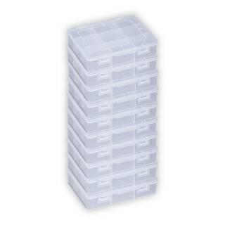 10x Allit EuroPlus Basic 18/9 457190 Sortimentskasten Kiste Kleinteile-Box Kasten